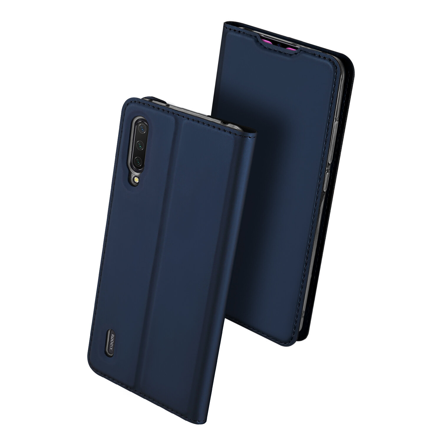 Dux Ducis Flip Card Slot Holder Shock-Proof Full Body  PU Leather Protective Case for Xiaomi Mi9 Mi 9 Lite / Xiaomi Mi CC9