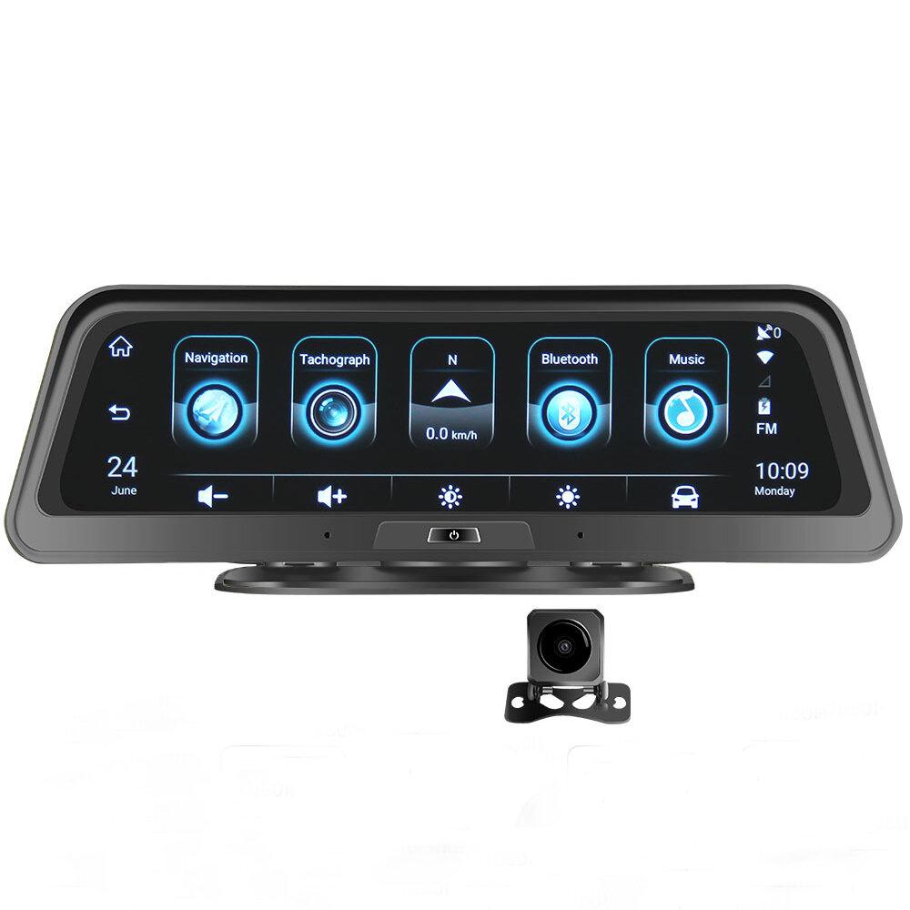 アンドロイドE98 10インチ車DVR 4G ADASダッシュカメラバックミラーカメラGPS WiFi駐車モニターレコーダー