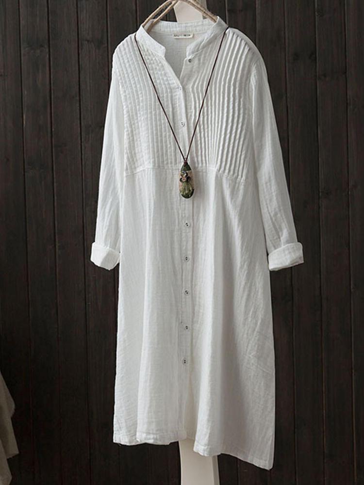 Plus Size Bohemian Striped Patchwork Print Short Sleeve Holiday Maxi Dress - 1