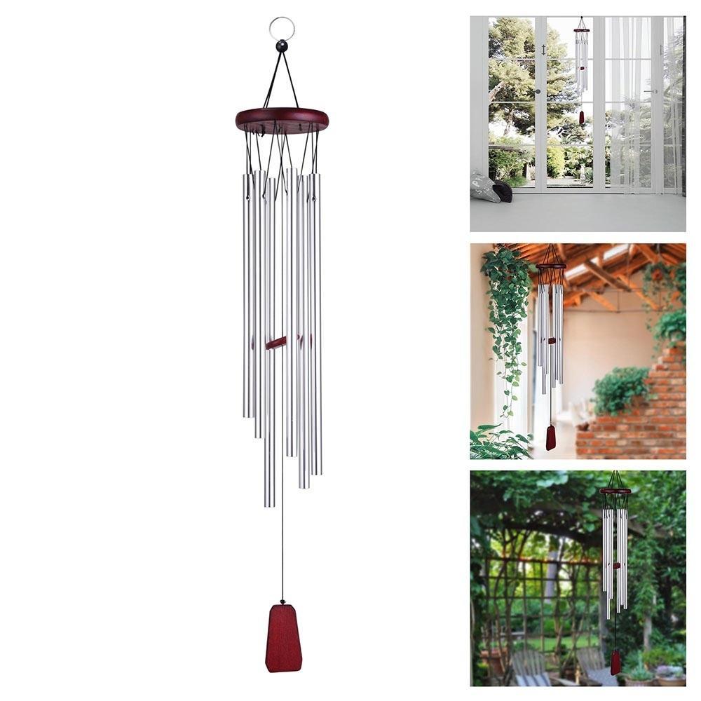 Diepe toon Resonant basgeluid Kerkklok Windgong Tuin Home Yard Decoratie Gift - 1