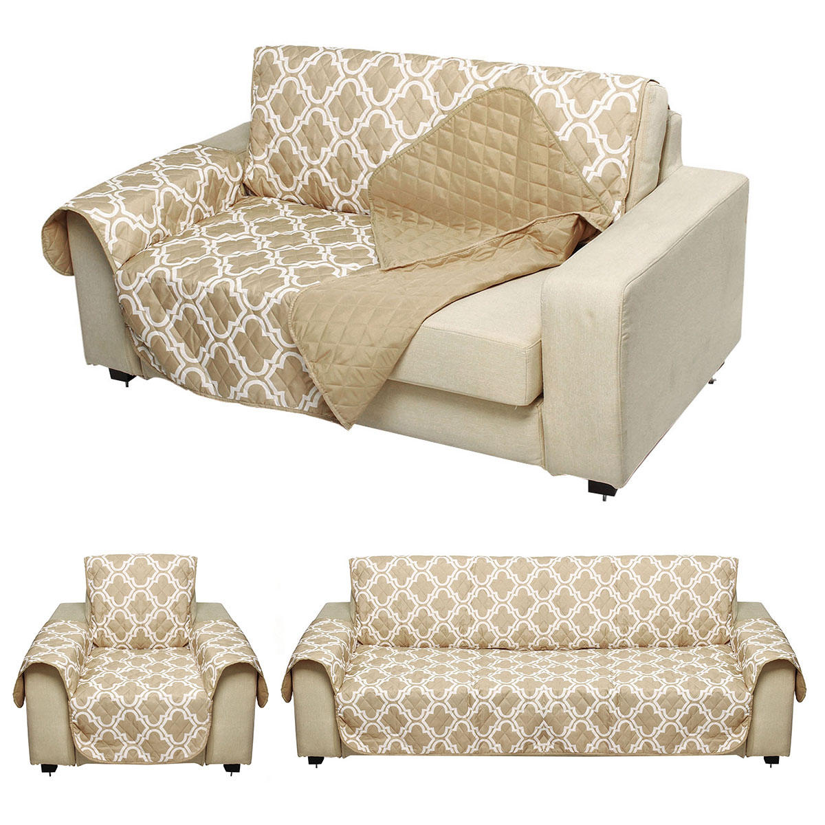 1 2 3 Seat Pet Dog Cat Sofa Couch Cover