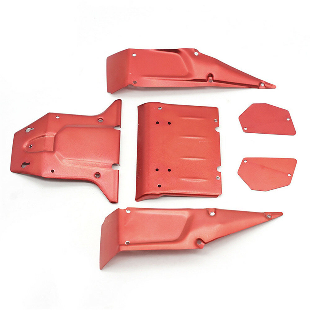 6PCS Feiyue Metal Car Body Plate for FY03 FY03H 1/12 RC Vehicles Model Spare Parts FY-CM03