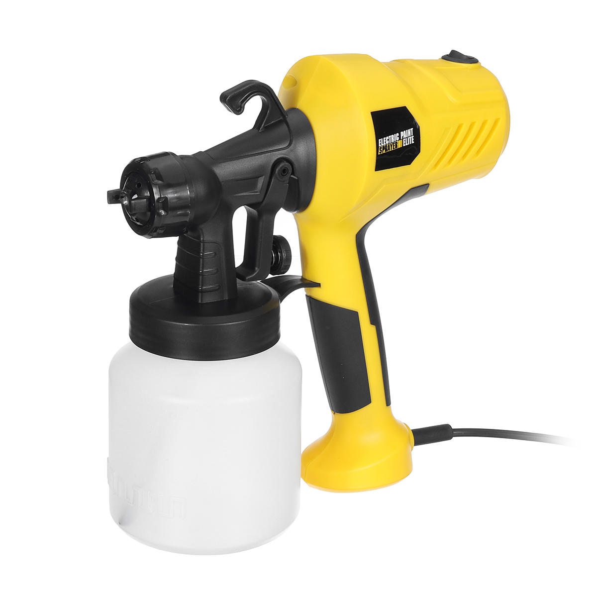 Electric Easy Spray Paint Sprayer Home Car Painting 1.8 +2.5mm Adjustable Nozzle - 1