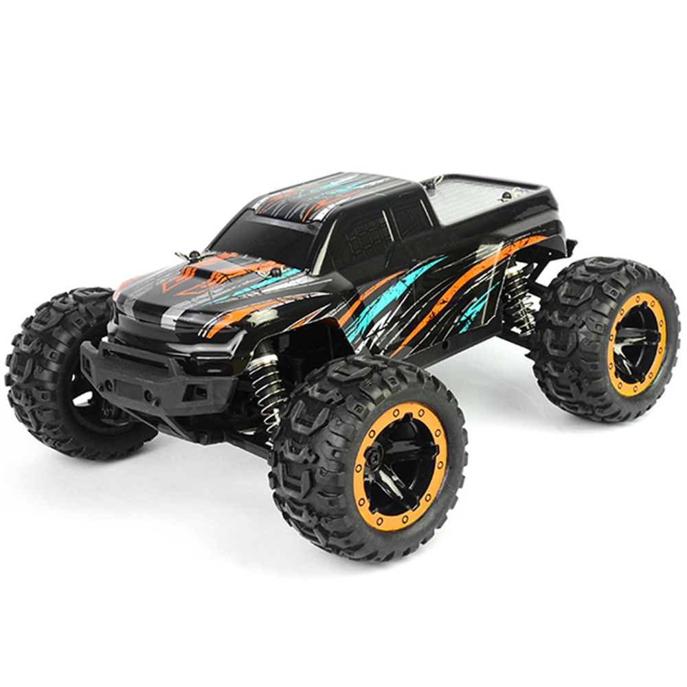 HBX 16889 Brushed 1/16 2.4G 4WD RC Car with LED Light Electric Off-Road Truck RTR Model
