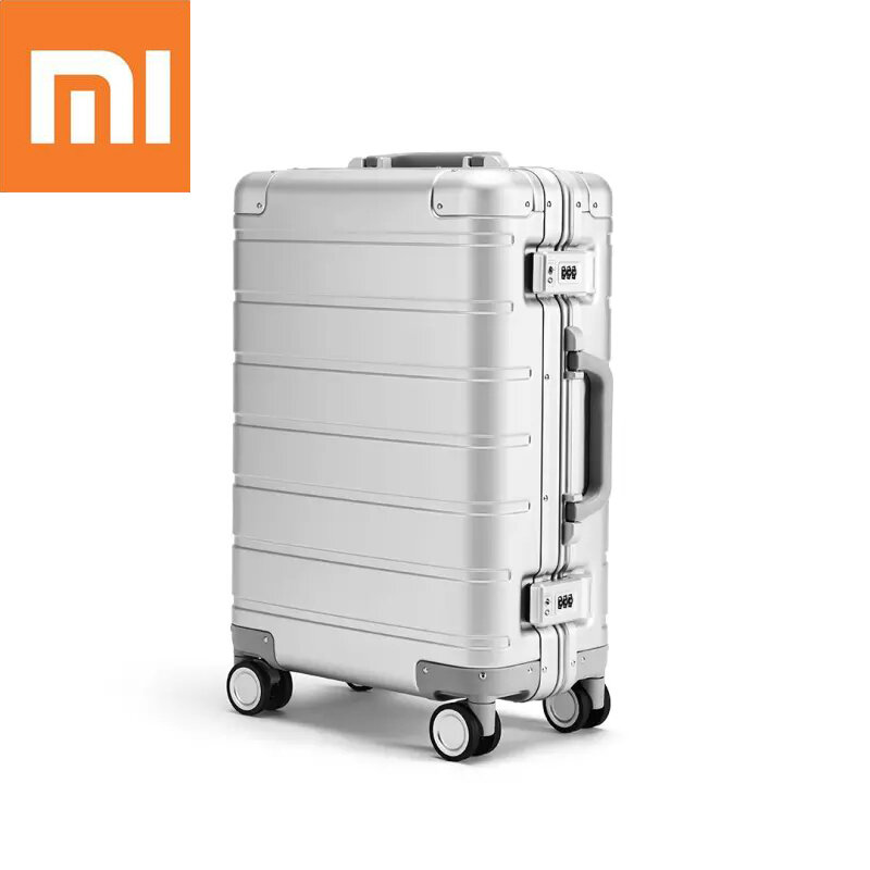 Original Xiaomi 20inch Travel Trunk 31L Aluminum Alloy TSA Lock Suitcase