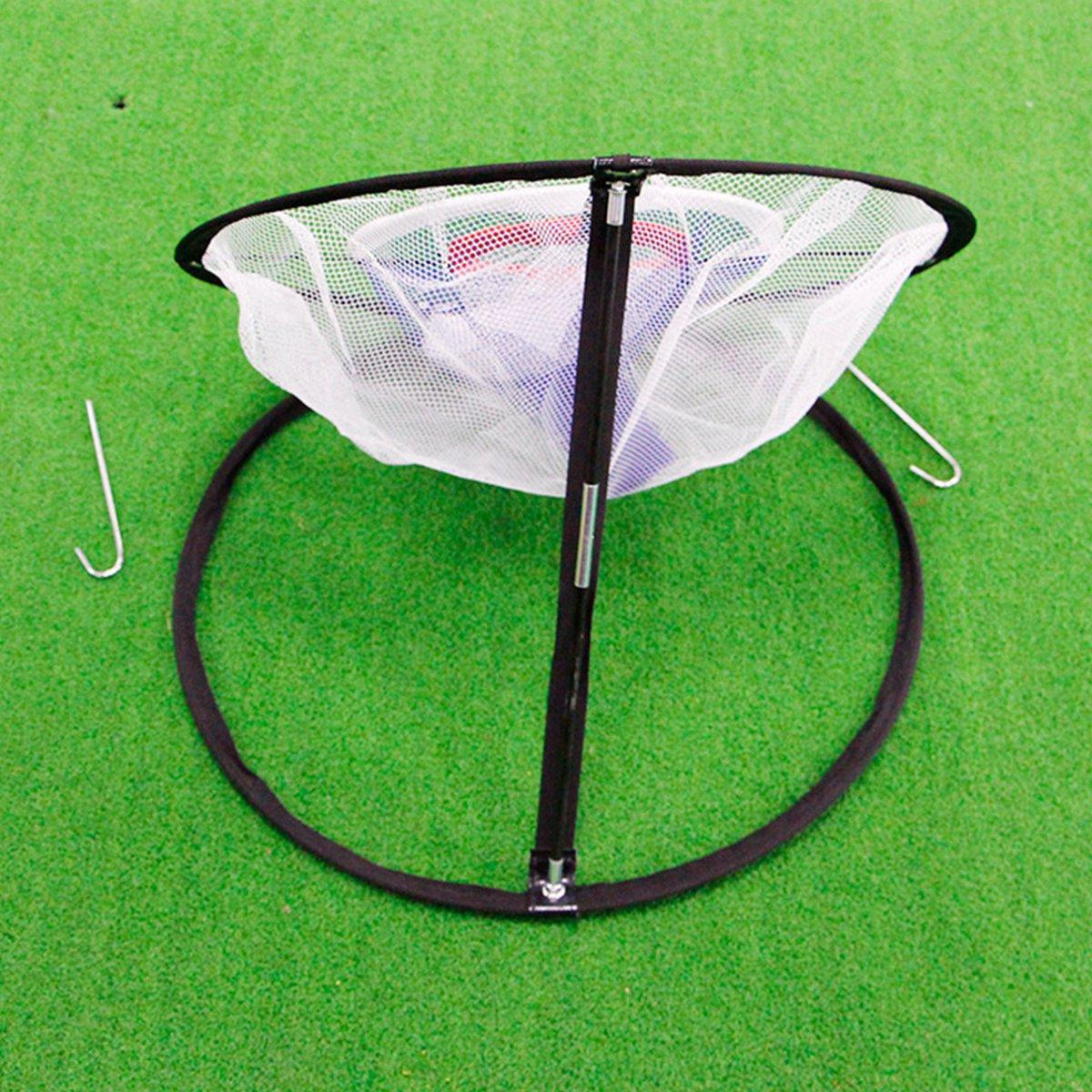 Golf Chipping Pitching Practice Net Hitting Cage Outils d'aide à la formation en plein air - 3