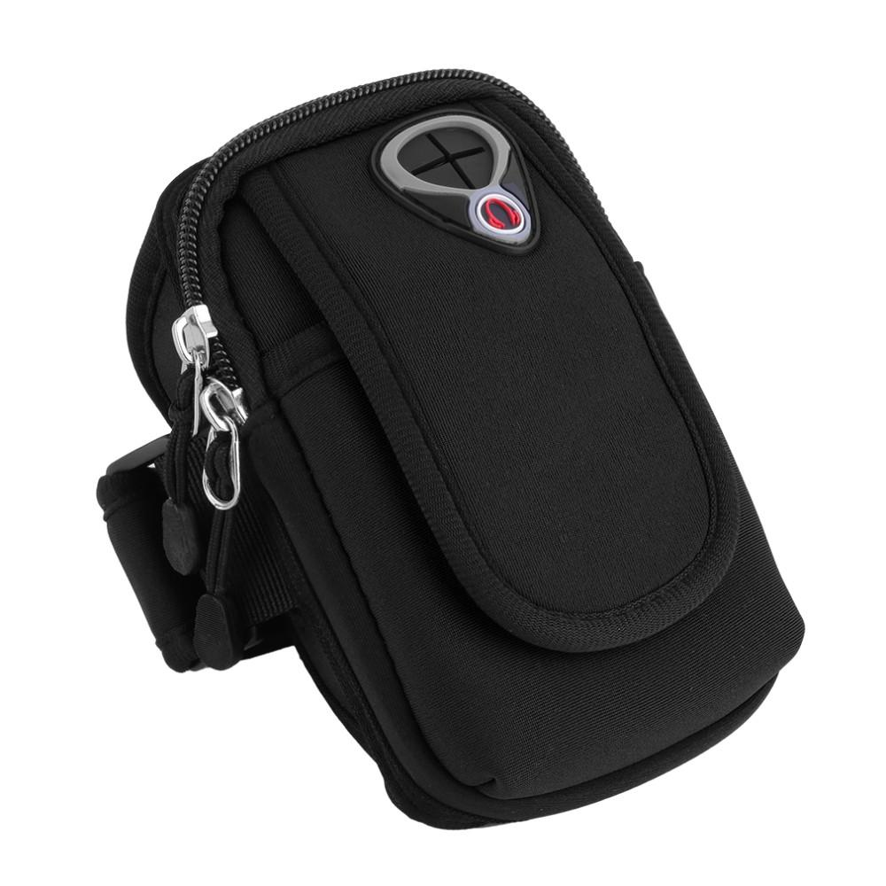 Bakeey Universal Waterproof Fabric Mobile Phone Armband Outdoor Gym Sports Running Jogging Wrist Arm Bag for Mobile Phone below 5.5 inch - 5