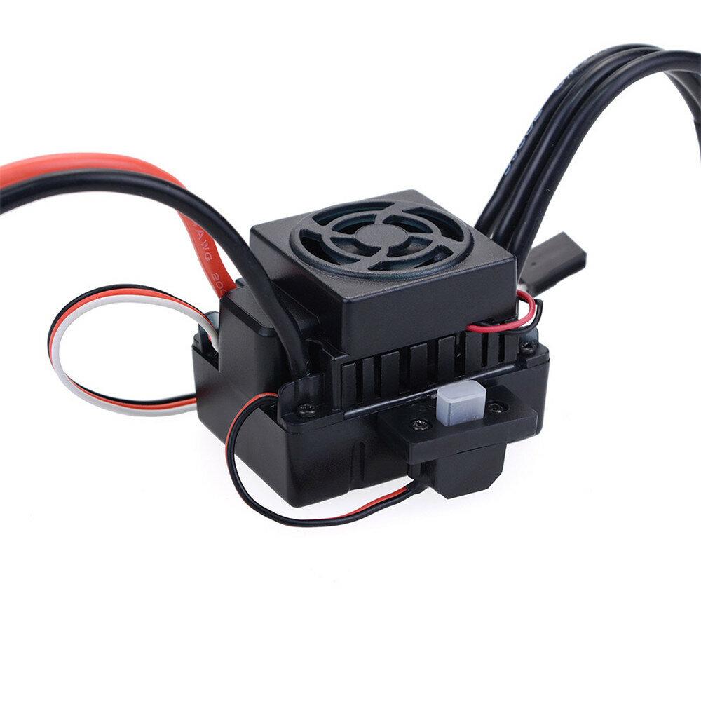 Hobbywing EzRun Max8 v3 150A Waterproof Brushless ESC T/TRX Plug+2200KV Motor For 1/8 RC Car Parts - 8