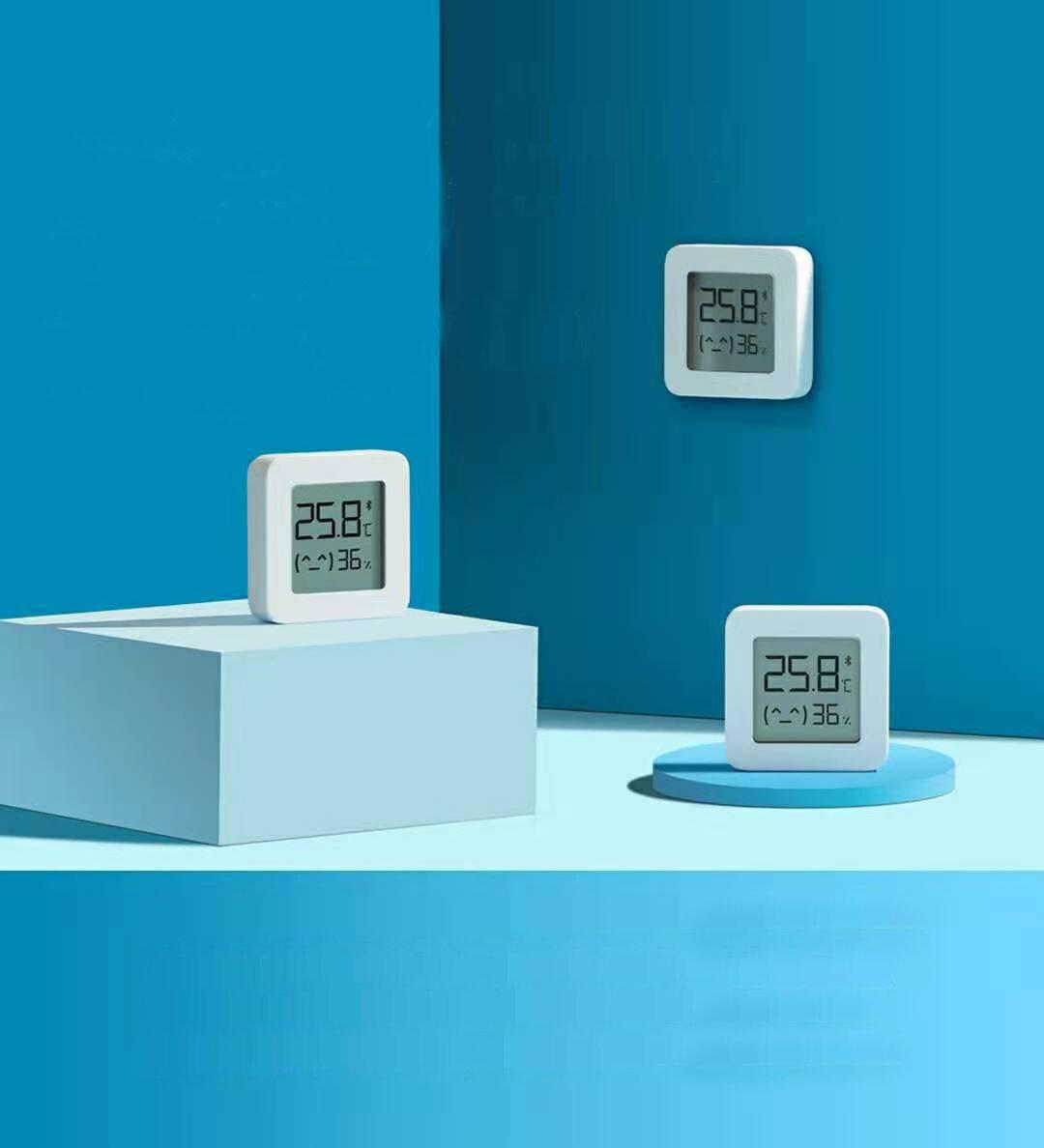 3Pcs XIAOMI Mijia Bluetooth Smart Electric Digital Thermometer Hygrometer 2