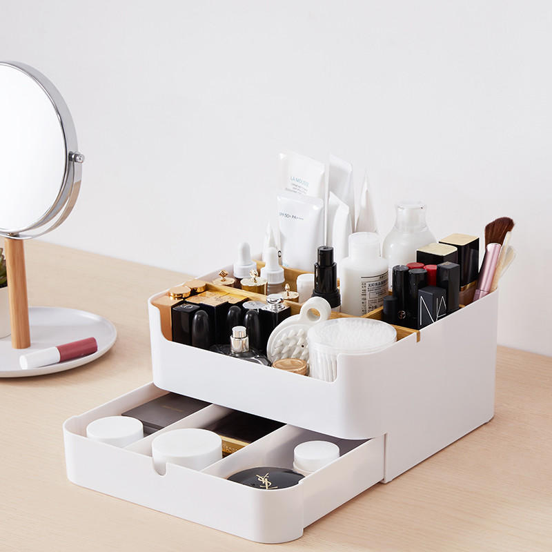 Chengshe Double-layer Desktop Storage Baskets Furniture from Ecological Chain  - buy with discount