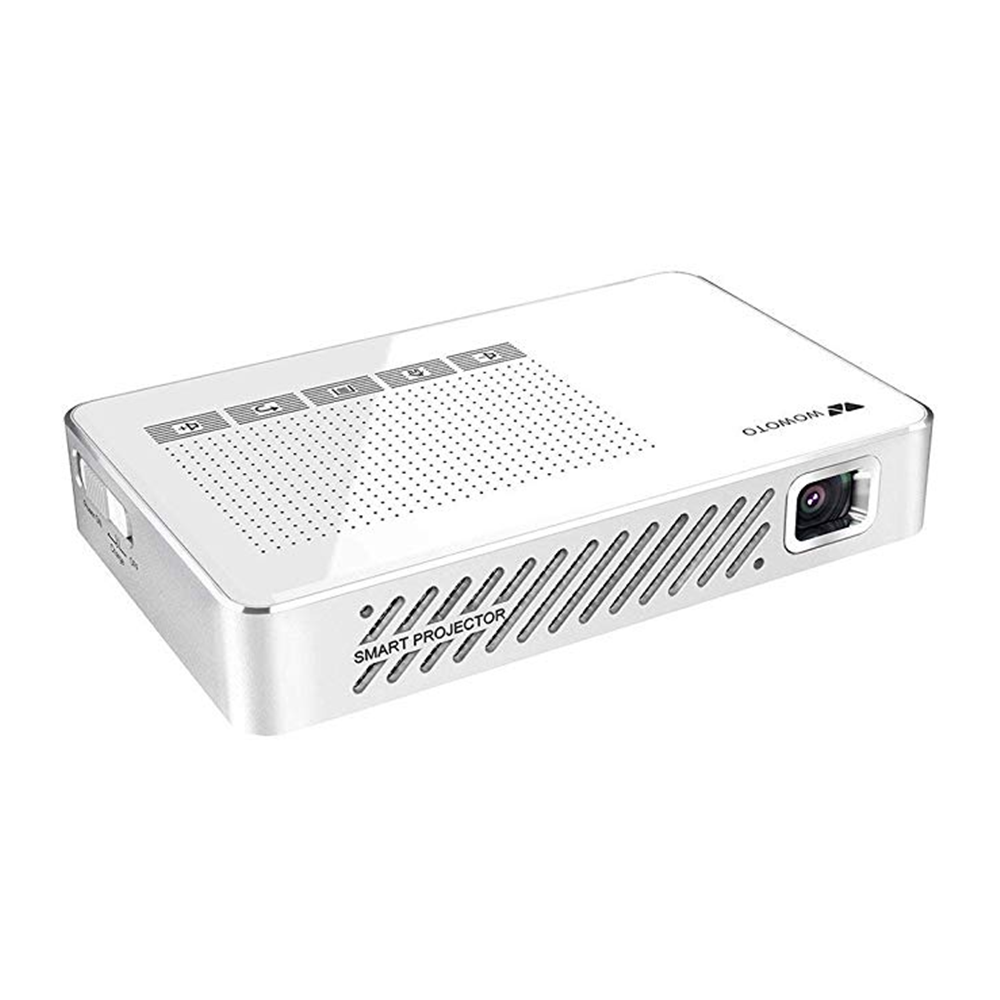 Wowoto A5 Pro Portable DLP Projector Android 854 x 480 WiFi LED Projector 500 Lumens bluetooth 4.0 Projector Home Theate фото