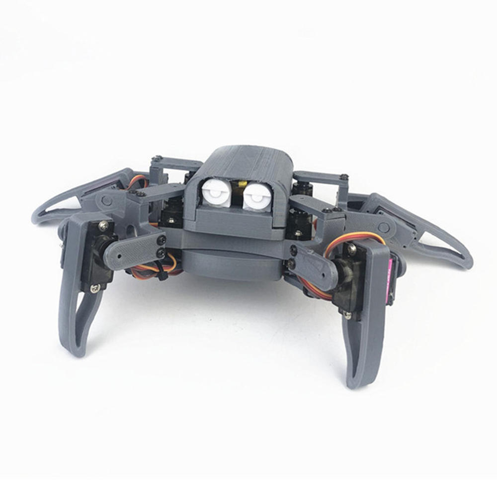 Small Hammer DIY 4-Legs Open Source RC Robot Wifi PC APP Control Educational Kit