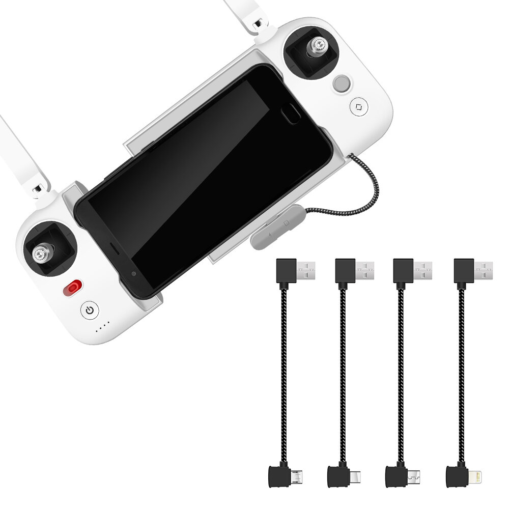 Remote Control Transmitter USB Data Connected Cable Line IOS/Android/TYPE C for FIMI X8 SE RC Drone