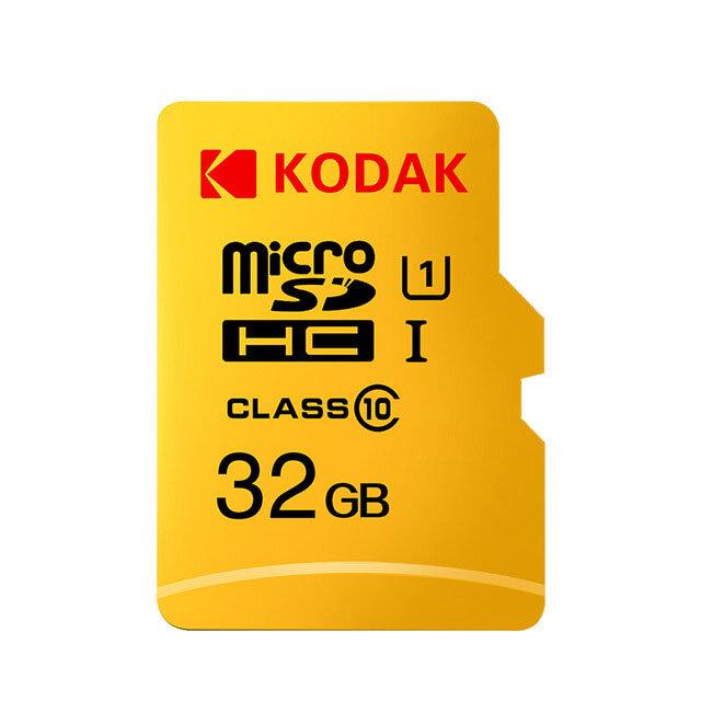 Kodak cartão micro sd tf cartão U1 classe 10 cartão de memória SDHC SDHC 32G 64G 128G para armazenamento de vídeo móvel