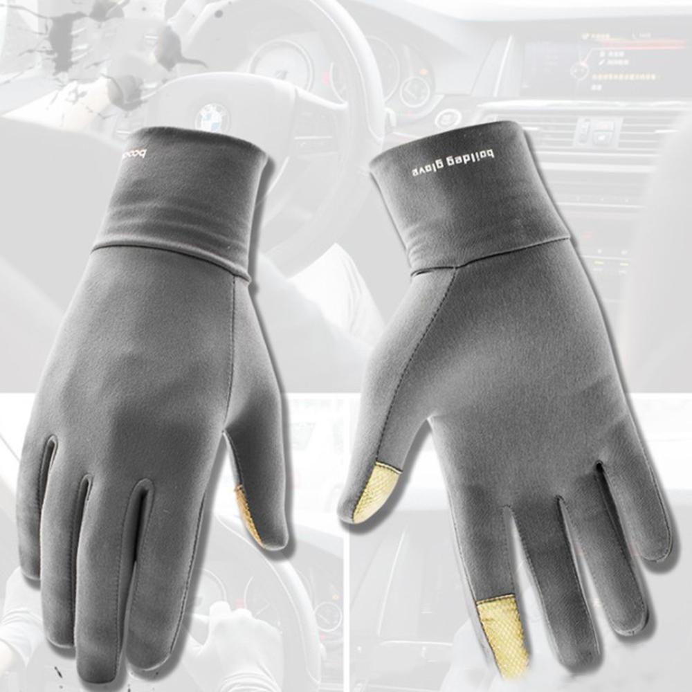 Bakeey Screen Touch Handschoenen Elastische Lycra Warm antislip Anti zweet Elektronische Sport Outdoor Motorfiets Fietspellen Touchscreen Handschoen - 1