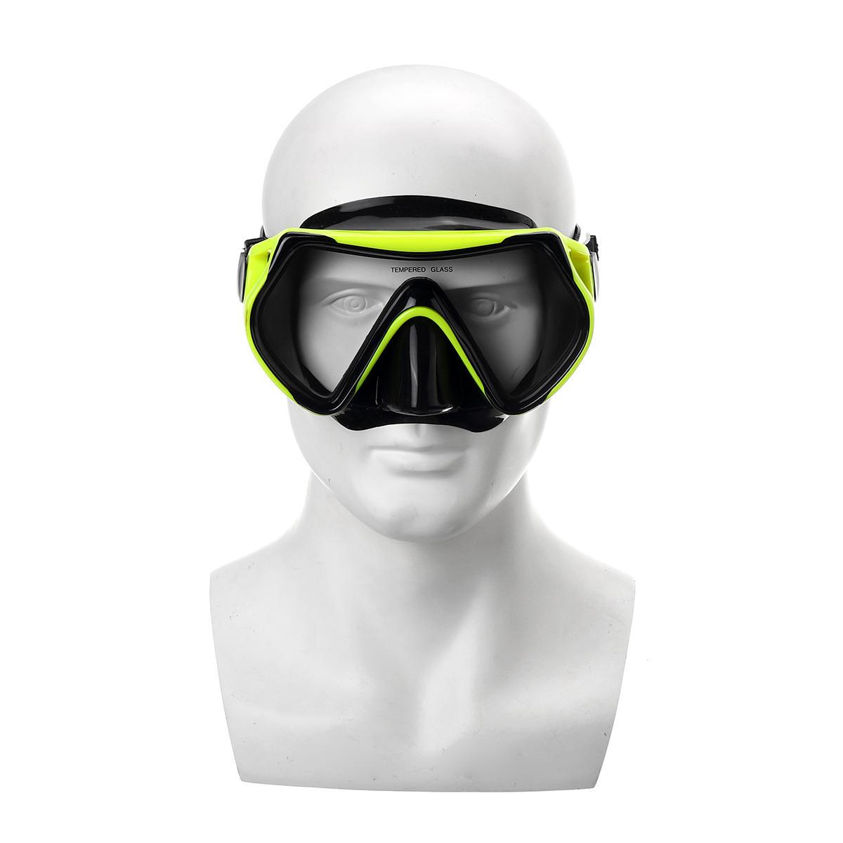 DIDEEP Duikmasker Onderwater Anti Fog Snorkel Zwemmasker B - 2