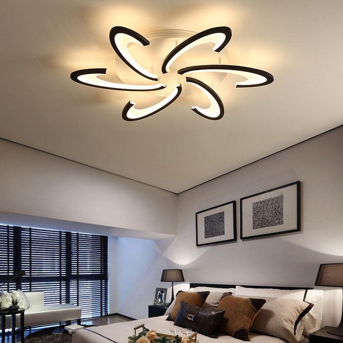 الحديثة LED السقف ضوء لغرفة المعيشة غرفة نوم لماعة led الثريا