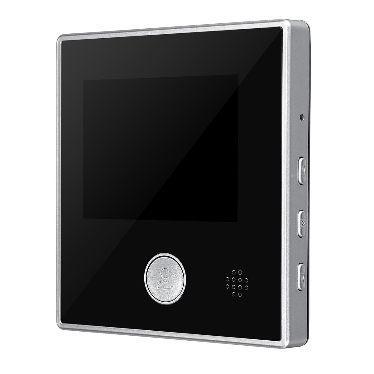 ENNIO 9 inch 2 Monitors Wifi Wireless Fingerprint RFID Video Door Phone Doorbell Intercom System with Wired AHD 1080P Door Access Control System,Support Remote APP Unlocking,Recording - 3