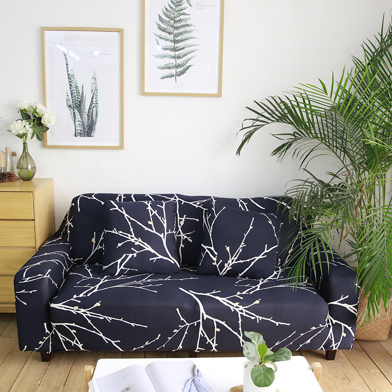 Admirable Textile Spandex Strench Sofa Chair Covers Printed Elastic Couch Cover Furniture Protector 4 Sizes Ncnpc Chair Design For Home Ncnpcorg