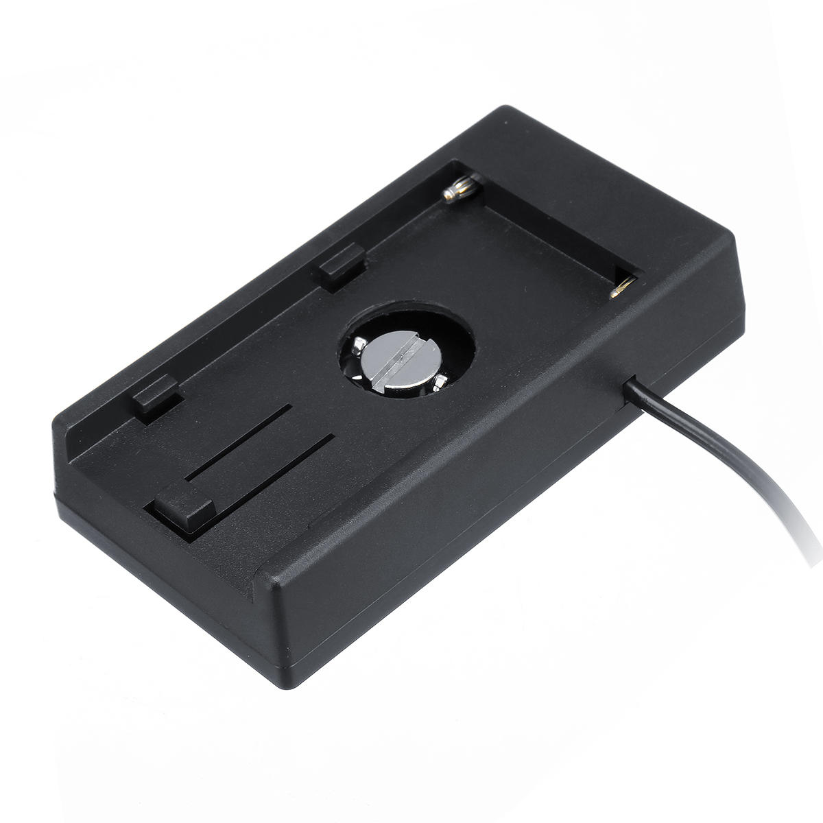 Camera Battery Power Supply System Plate Aviation Connector for BMPCC 4K F 970 F970 Camera - 4