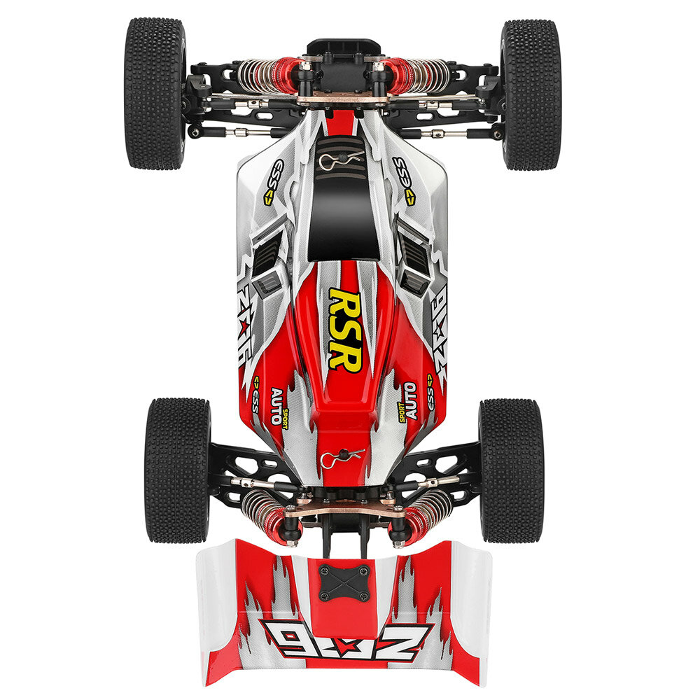 WLtoys A959-B 1/18 4WD Buggy Off Road RC Car 70km/h - 4