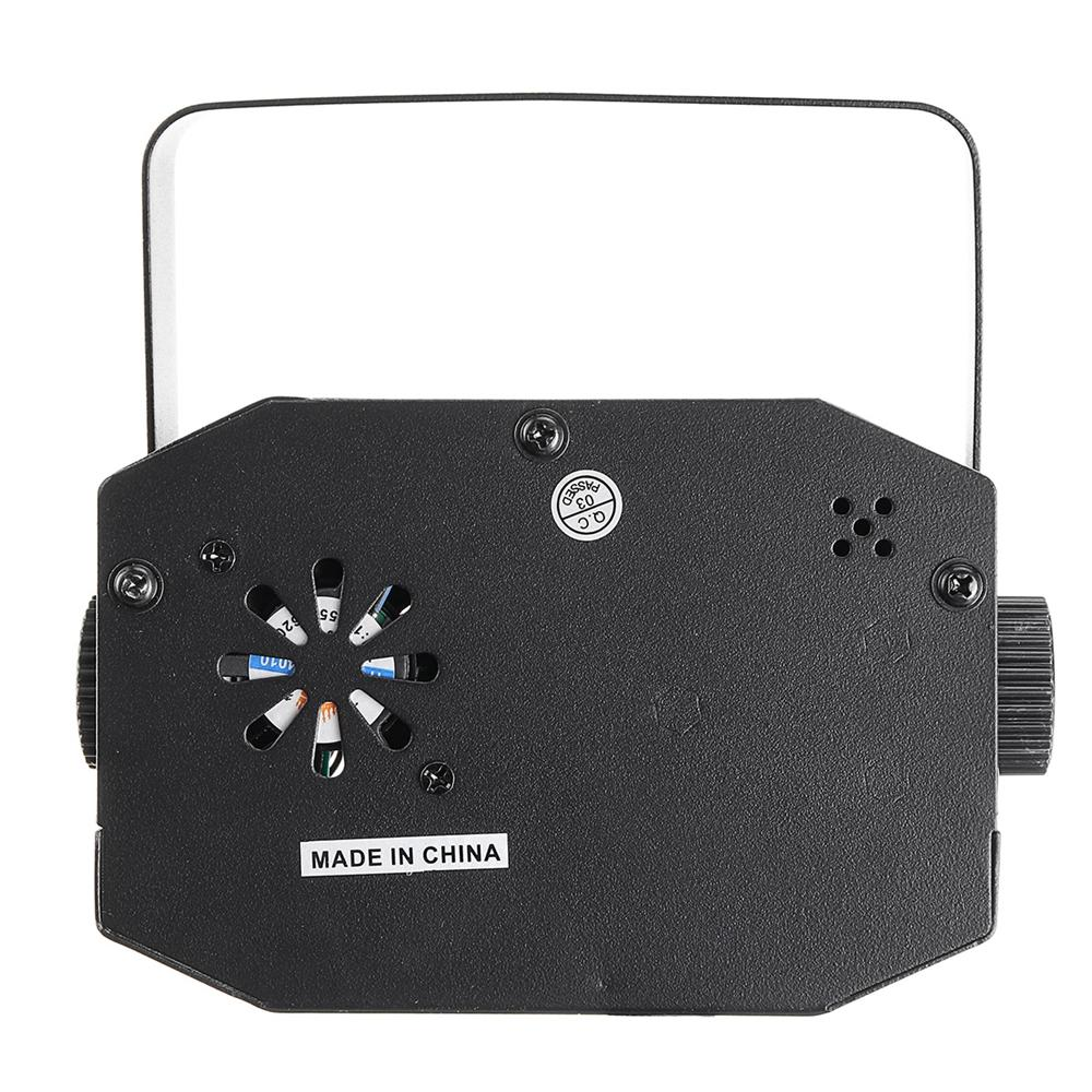 18W LED RGB Stage Projector Light Lamp DJ Club Disco Party with Remote Control - 4