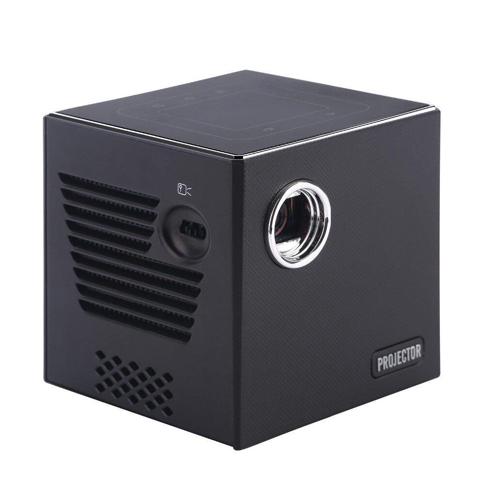 CSQ C80  DLP Projector Android 7.1.2 Mini Portable Home theater Projector