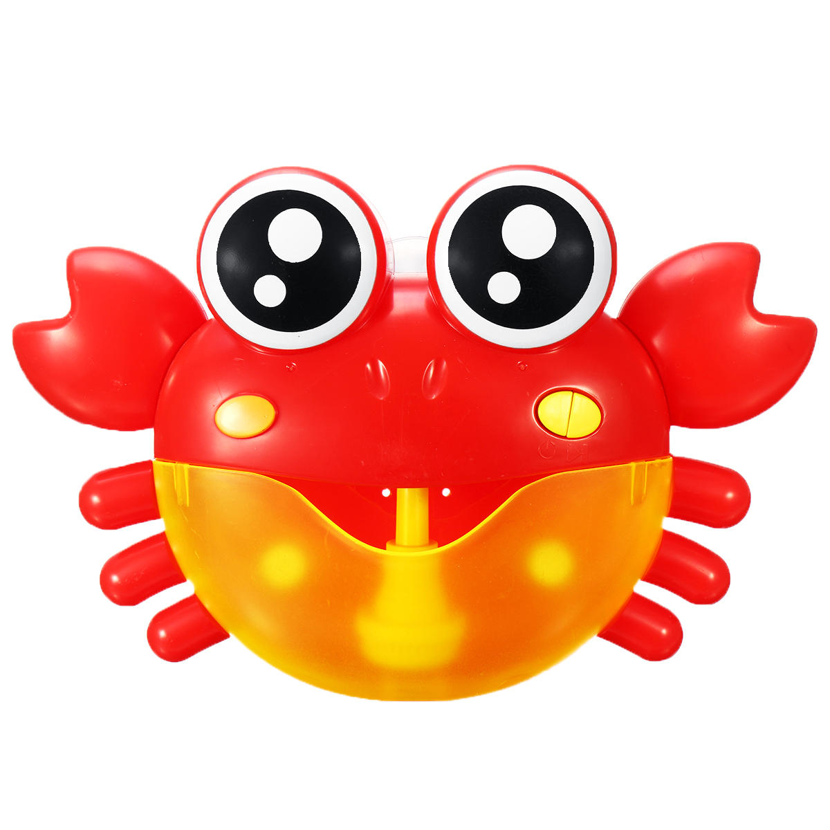 Crab Bubble Machine Musical Bubble Blower Maker Bath 7 Colorful Light Music Baby Kid - 2