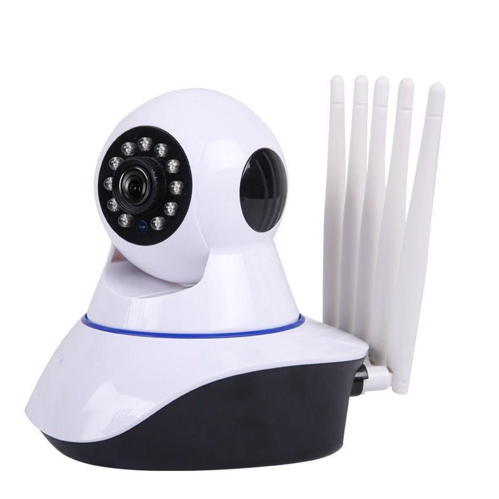 GUUDGO Five Antenna Upgrade 1080P 2MP IP Camera Two-Way Audio Security Night Vision  Motion Detect Camera