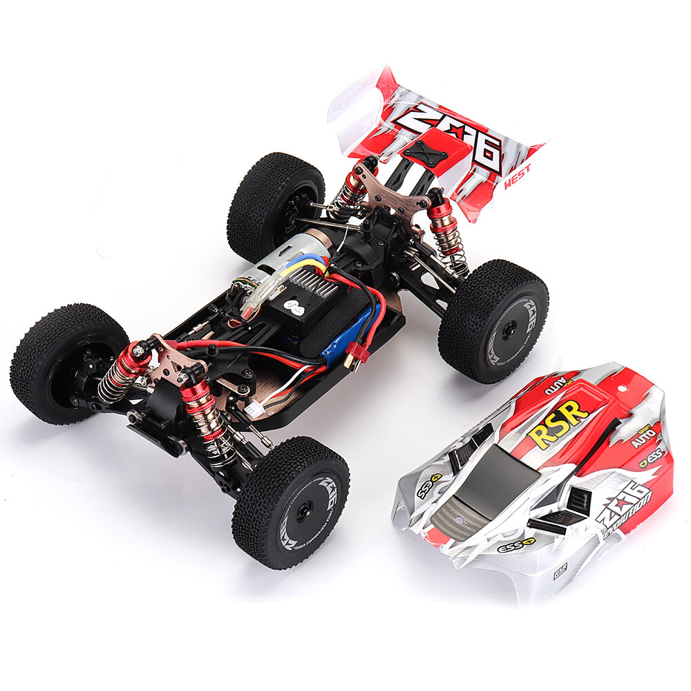 WLtoys A959-B 1/18 4WD Buggy Off Road RC Car 70km/h - 10