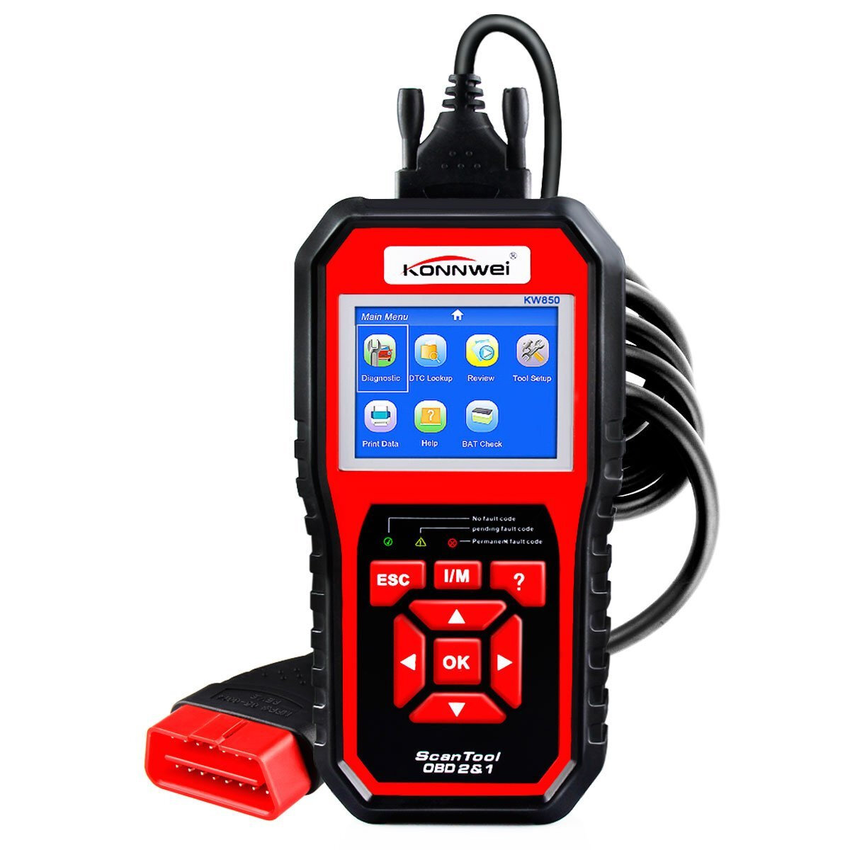 Foxwell NT624 Elite OBD2 EOBD Automotive Scanner Full System Diagnostic Oil EPB Reset OBD 2 Auto Scanner Car Diagnostic Tool - 1