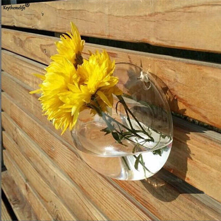 Flower Planter Wall Hanging Basket Ornamental Vases Garden Outdoor Indoor Holder Home Decoration - 9