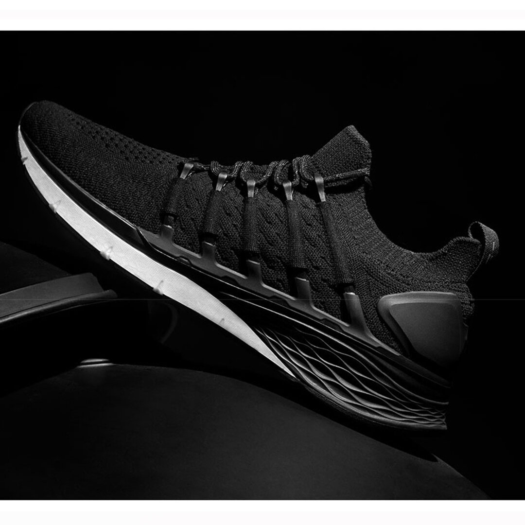 Xiaomi Mijia Sneakers 3 Machine Washable Ultralight TPU + FREE FORCE Midsole Technology Shock Absorption 3D Fishbone Lock System Sports Running Shoes Men Sneakers - 4