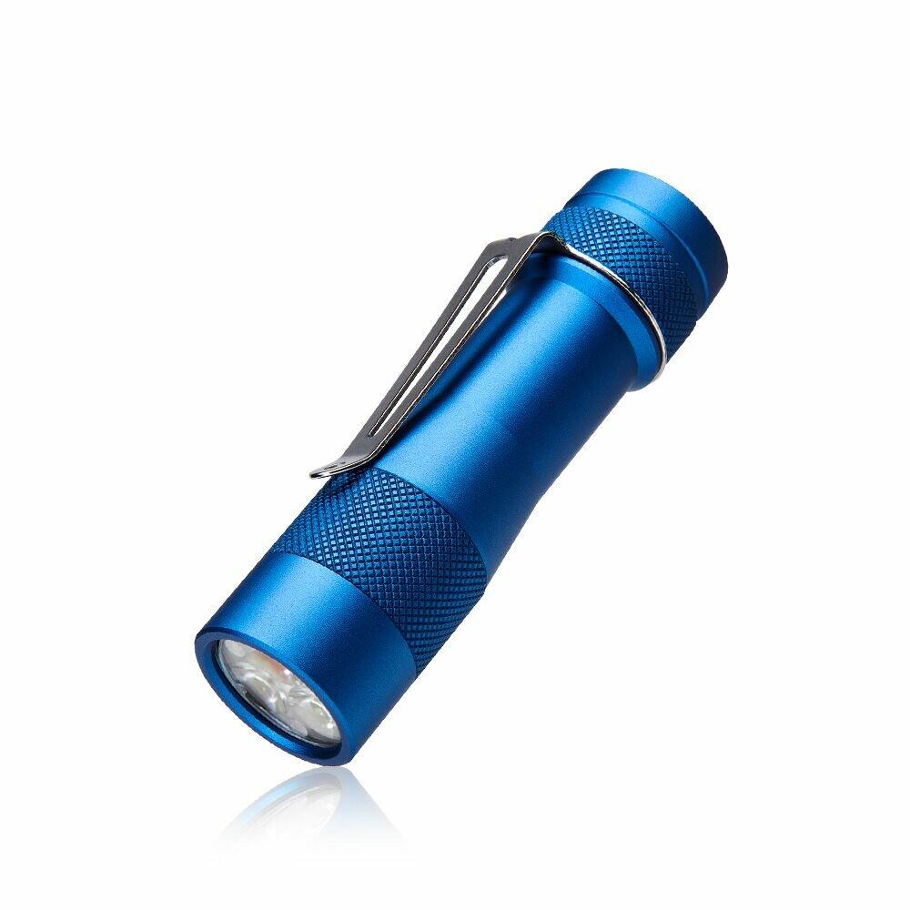 LUMINTOP FW3A Blue 3x XP-L Hi/SST20/219C 2800LM ANDÚRIL UI Compact EDC Flashlight LED Keychain Light