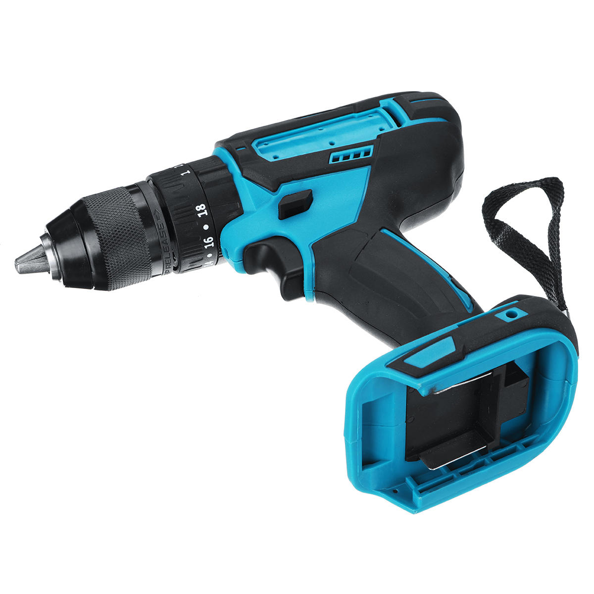 10mm Chuck Brushless Impact Drill 350N.m Cordless Electric Drill For Makita 18V Battery 4000RPM LED Light Power Drills - 7