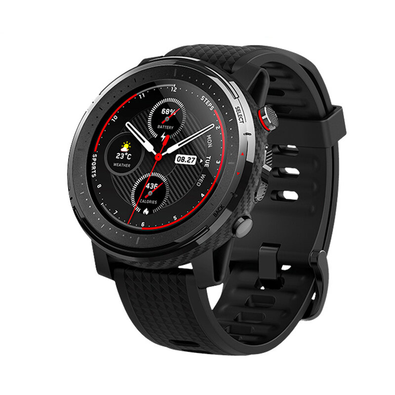 Amazfit stratos 3 1.34' Screen GPS+GLONASS bluetooth Music Play 14 Days Battery Smart Watch Global Version from xiaomi Eco-System