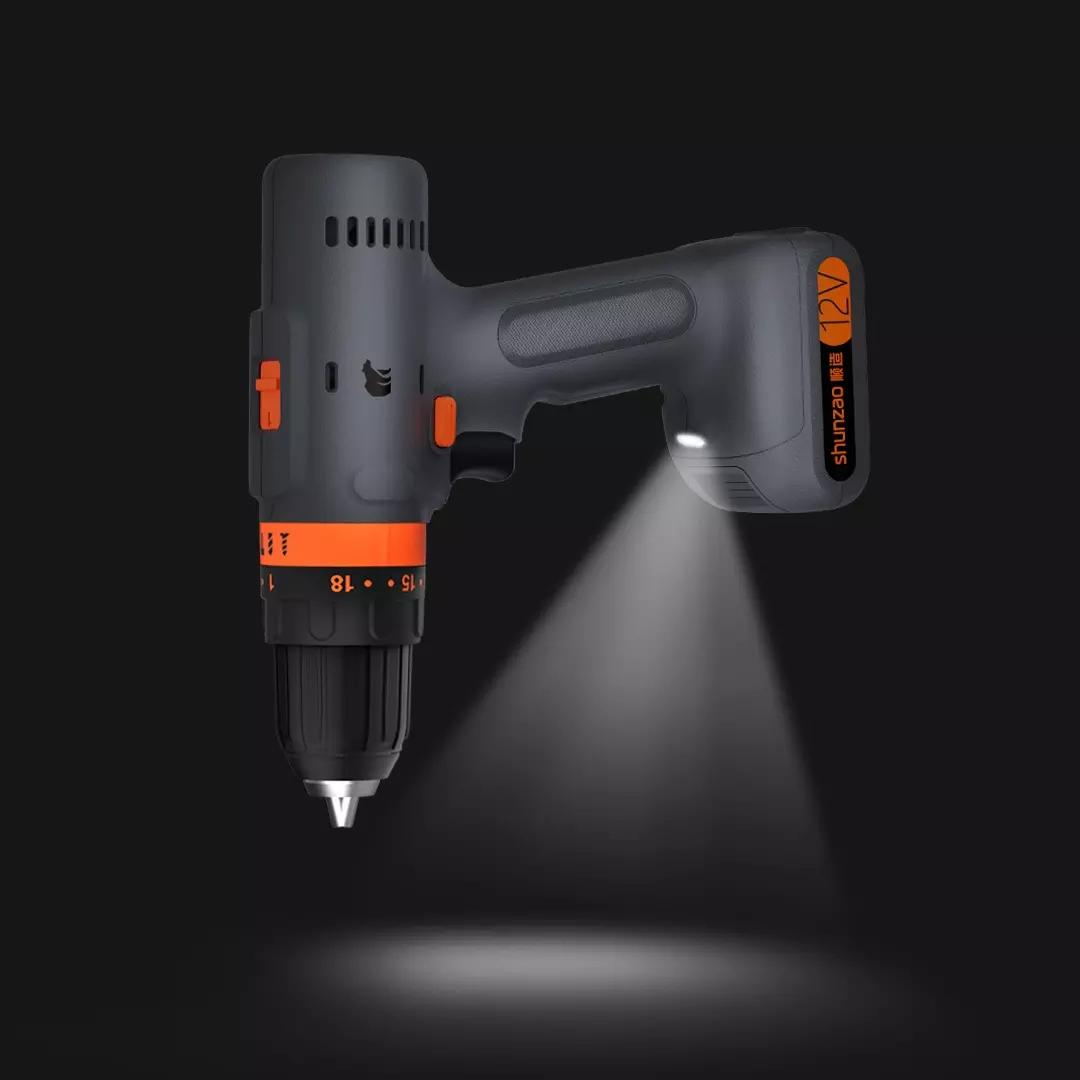 WOWSTICK SD 36 in 1 Dual Power Lithium Electric Screwdriver LED Lights Rechargeable Magnetic Suction Screw Driver For DIY - 1