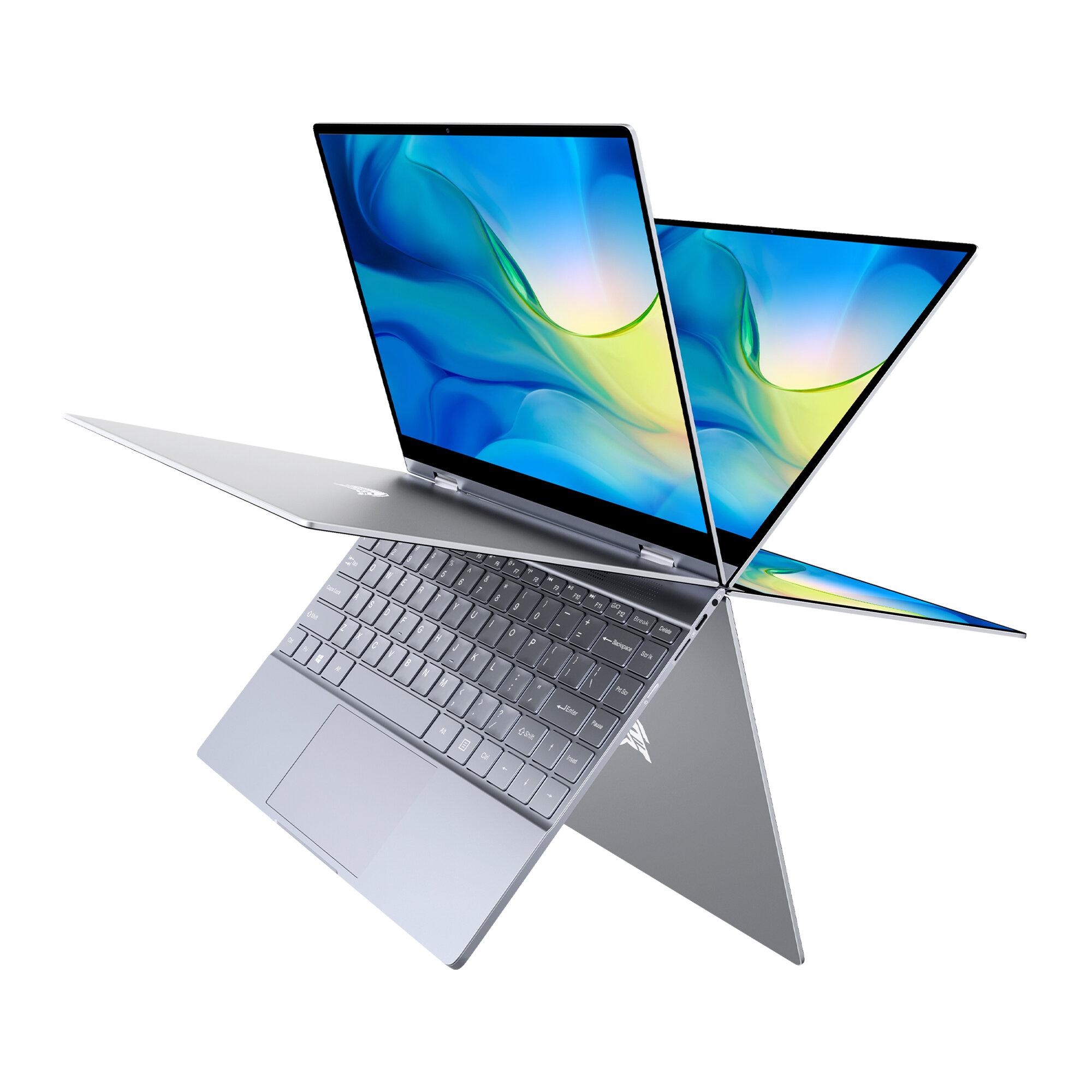 BMAX Y13 Laptop 360-degree 13.3 inch Intel Gemini Lake N4100 Intel UHD Graphics 600 8GB LPDDR4 RAM 256GB SSD Notebook