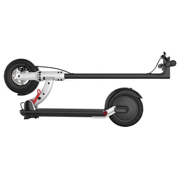 ZAPCOOL T103-1 23.4Ah 60V 1600W Folding Electric Scooter Top Speed 60km/h Max. 200kg Single Motor Front Wheel Shock Absorption Without Seat EU Plug - 4