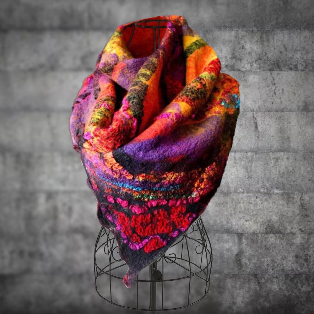 Vintage Scarves & Shawl Wrap Pattern - 4