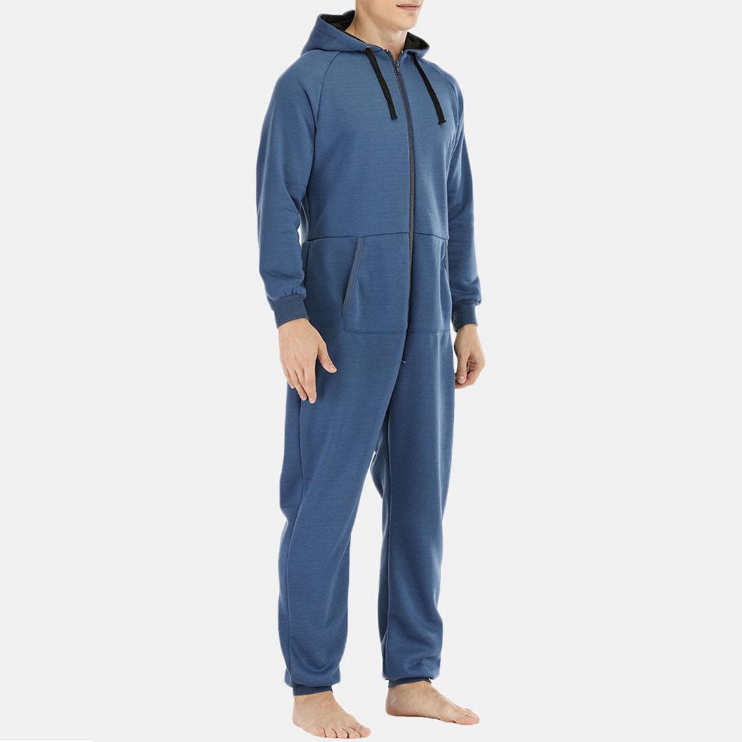 Men Polka Dot Kimono Robe Set Thin Loose Breathable Home Casual Loungewear Pajama Set - 4