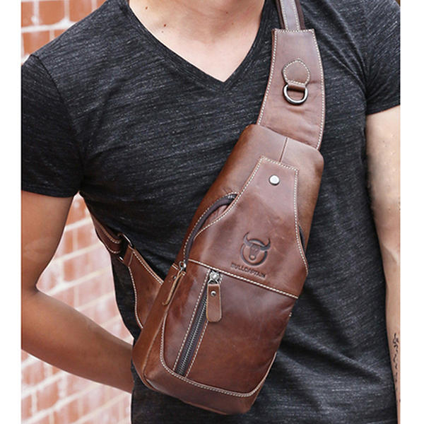 Men's Anti Theft Hidden Agents Underarm Shoulder Bag - 12