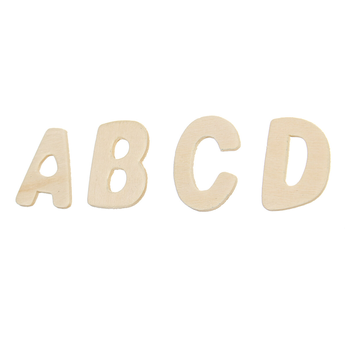 156X Wooden Scrabble Tiles Letters Puzzle Blocks Crafts Wood Alphabet Kids Early Education Toys Gift - 7
