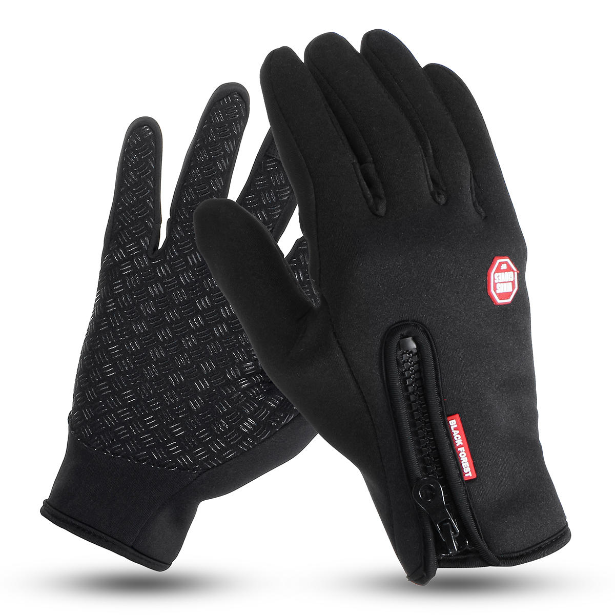 Womens Mens Winter Warm Gloves Screen Touch Full Finger Cycling Ski Mittens