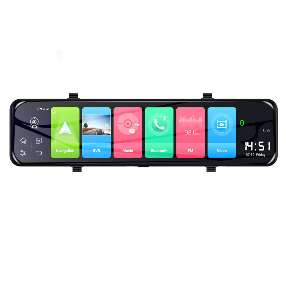 Z70 android 8.1 4G ADAS Quad-Core Car DVR Dash Camera GPS Wifi bluetooth 1080P Rearview Mirror Z70