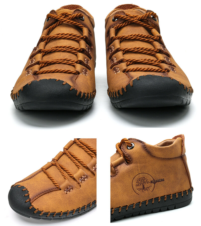 Waterproof Outdoor Hiking Ankle Boots - 3
