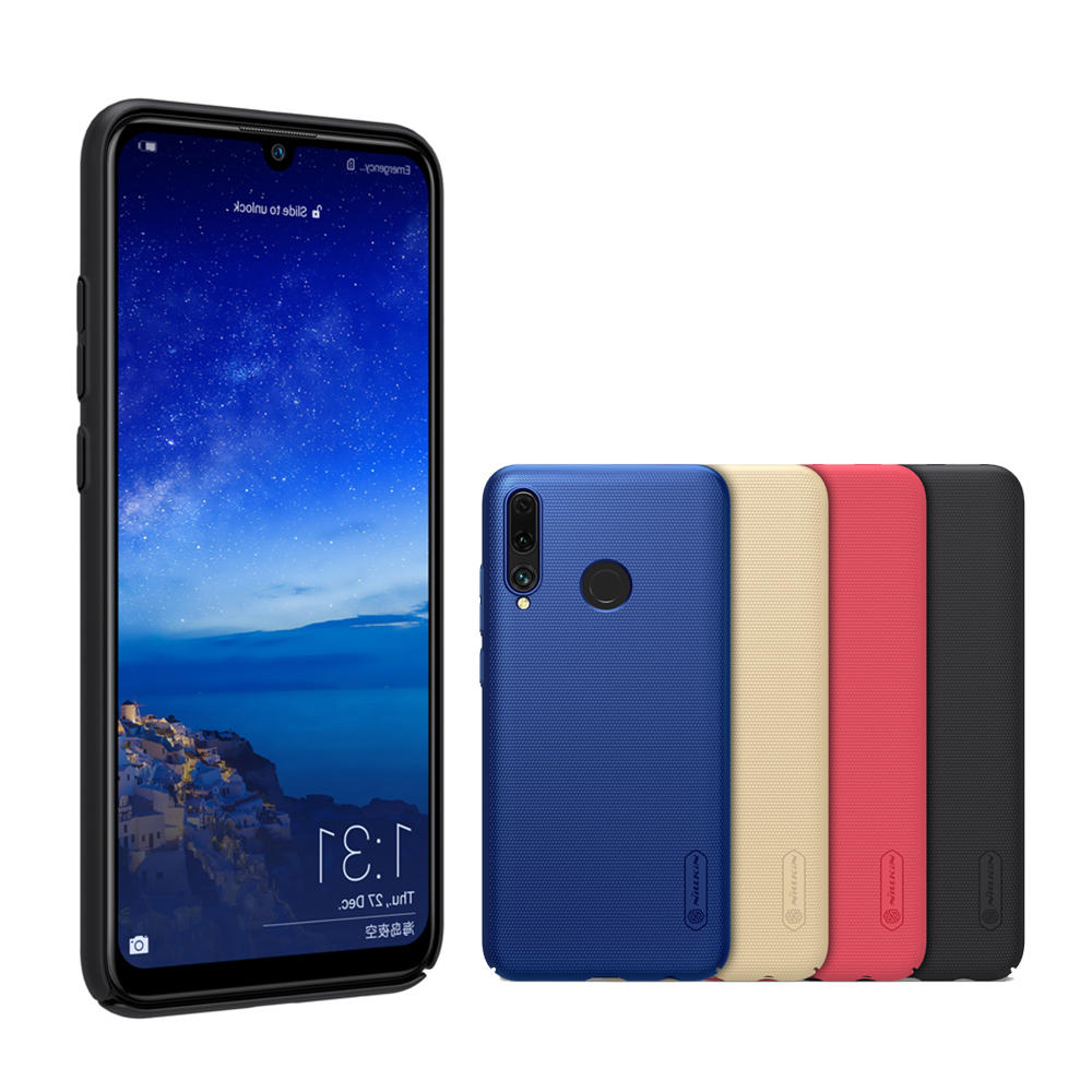 NILLKIN Frosted Shockproof Shield PC Hard Back Protective Case for Huawei P Smart+ 2019 / Huawei Enjoy 9s