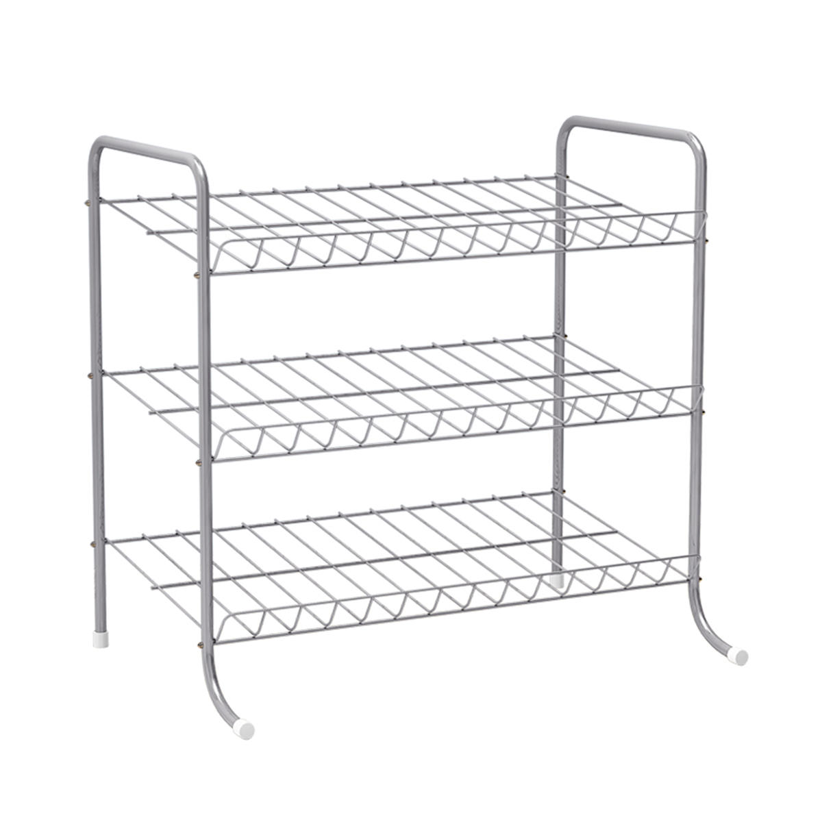 Bottles Jars and Sundries Holder Stand Rack Cabinet Metal Wire Kitchen
