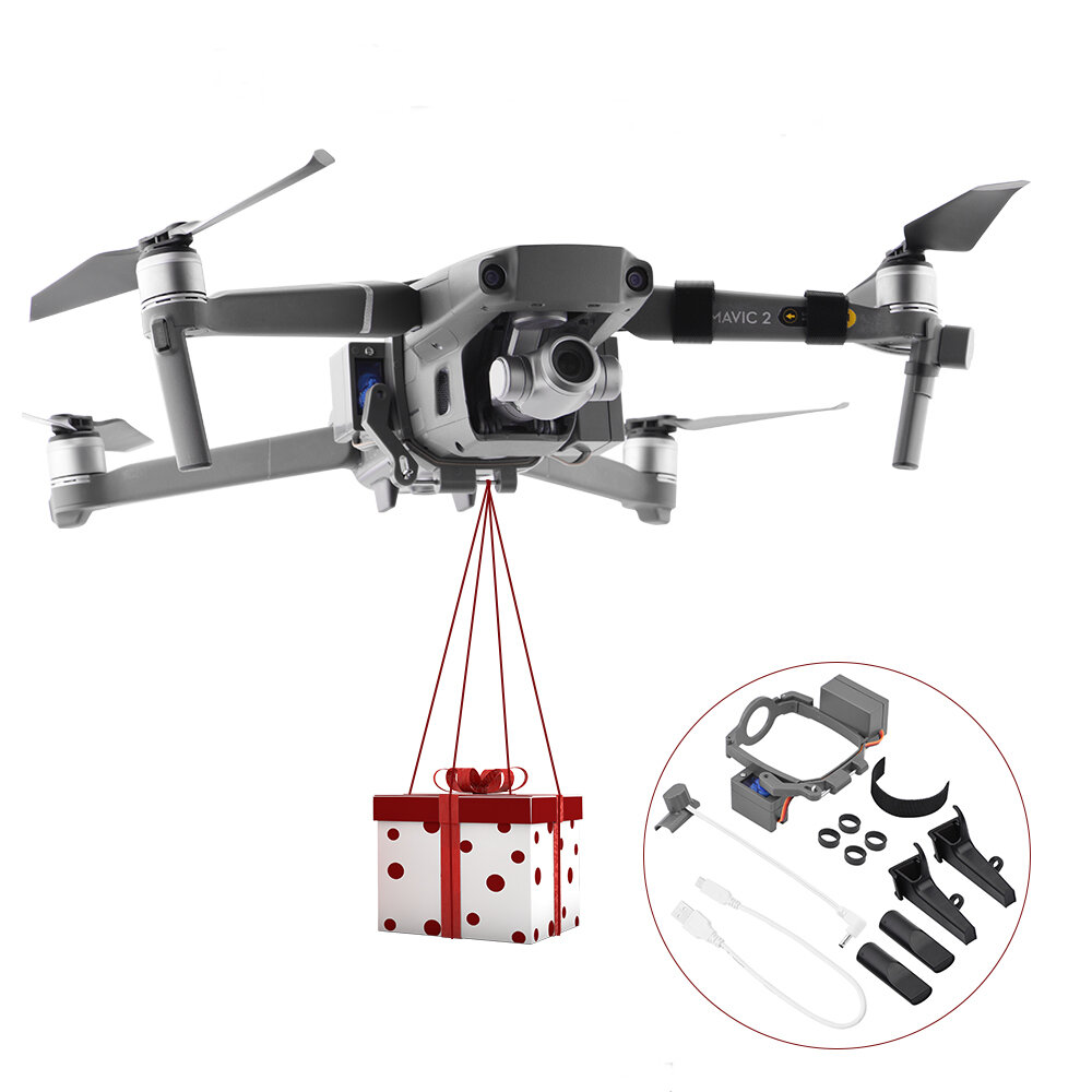 1Set Professional Wedding Proposal Delivery Device Dispenser Thrower Drone Air Dropping Transport Gift RC Quadcopter Parts for DJI Mavic Pro/Mavic Pro Platinum - 1