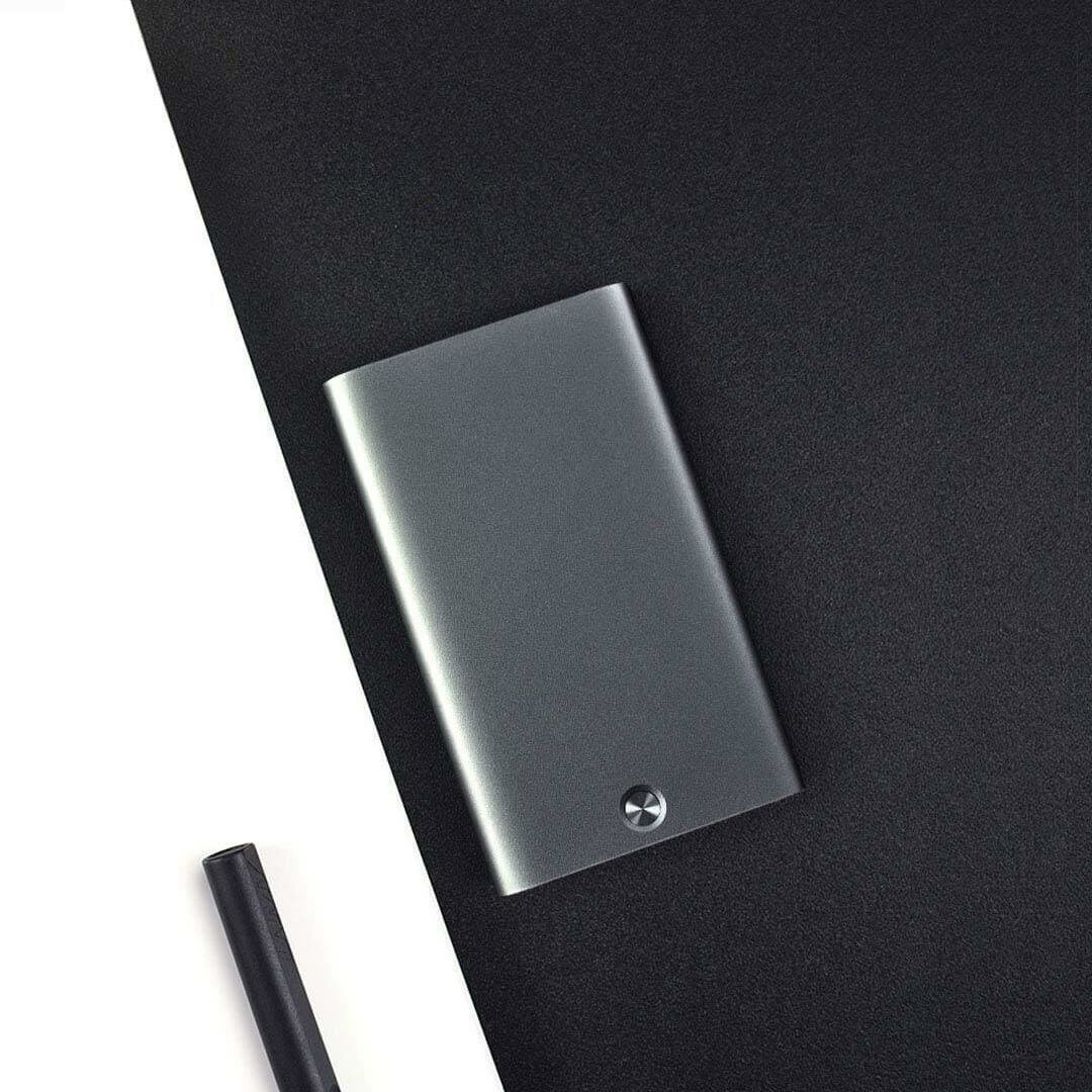 MIIIW Automatic Card Holder Business Slim Metal Name Card Credit Card Case Storage Box from Xiaomi Youpin - 1